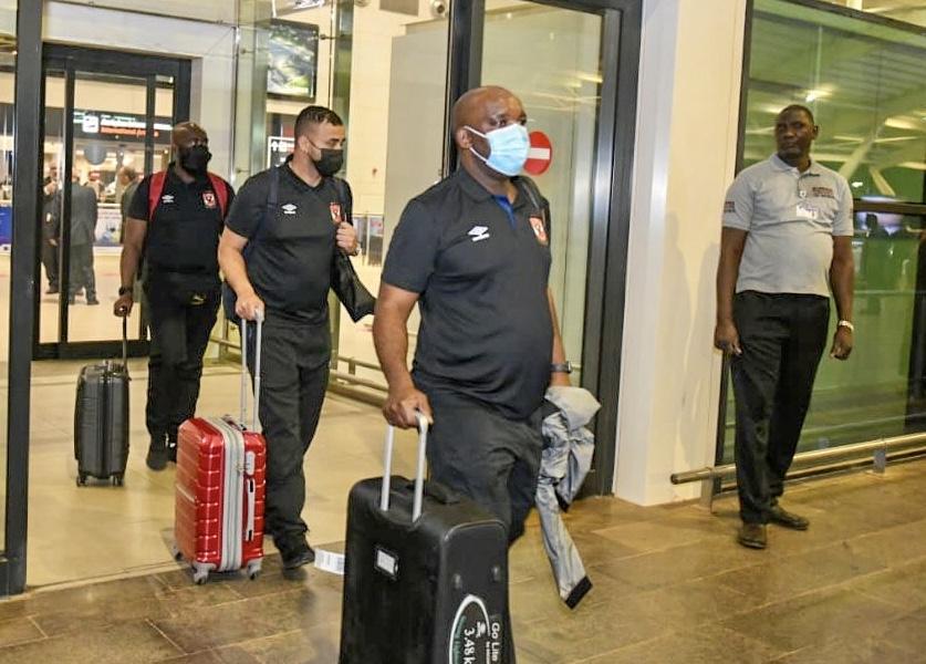 دوري أبطال إفريقيا| محاضرة فنية للاعبي الأهلي اليوم استعدادًا لمباراة الحرس الوطني غدًا