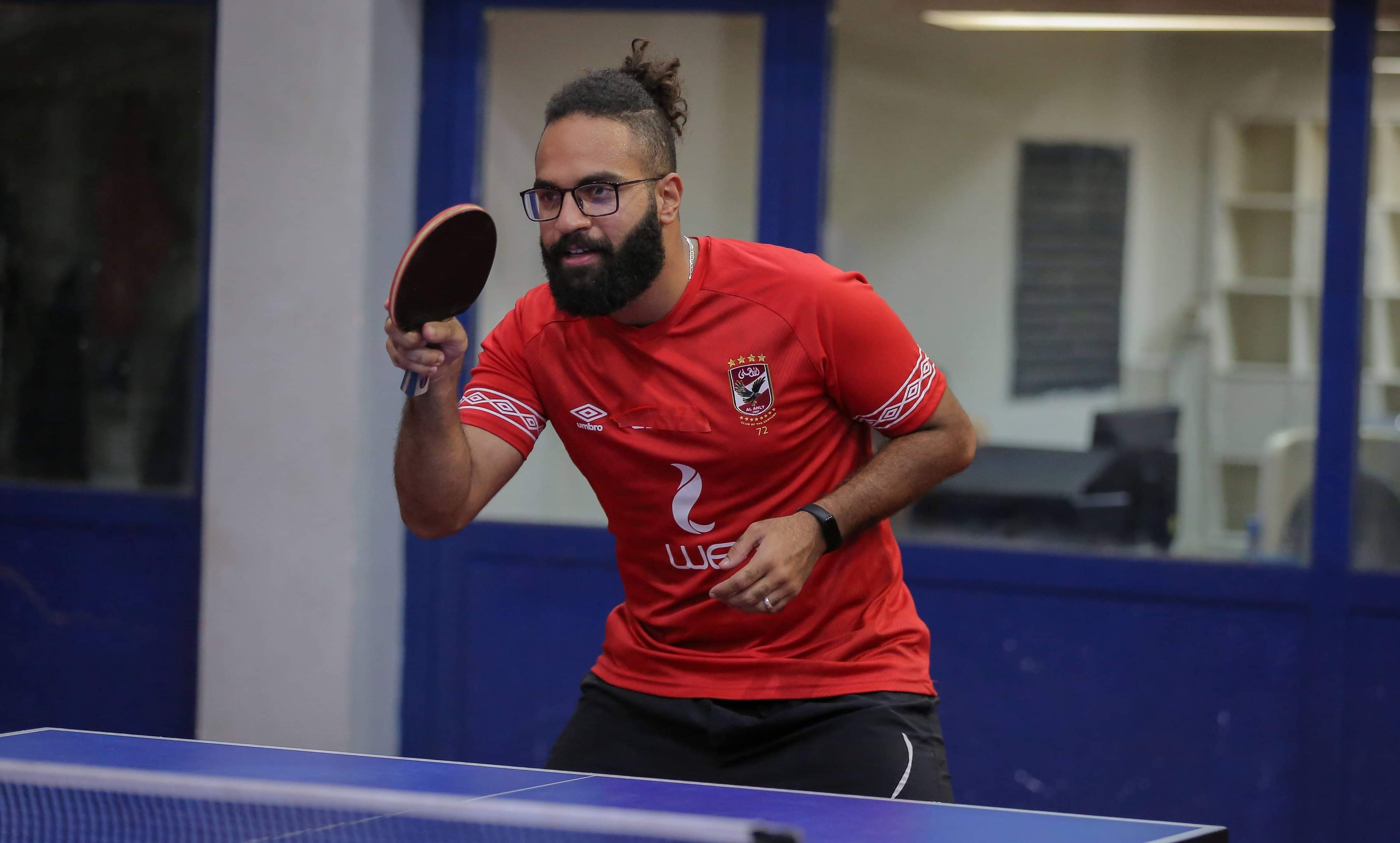 تنس طاولة  محمد شومان يتوج بالبطولة العربية للمنتخبات في منافسات الفردي