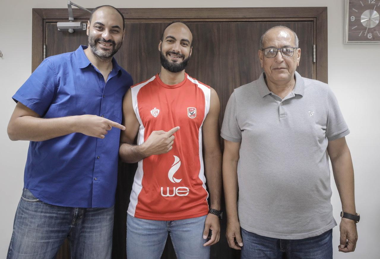 رؤوف عبد القادر يعلن انضمام مروان سرحان إلى «رجال سلة الأهلي»