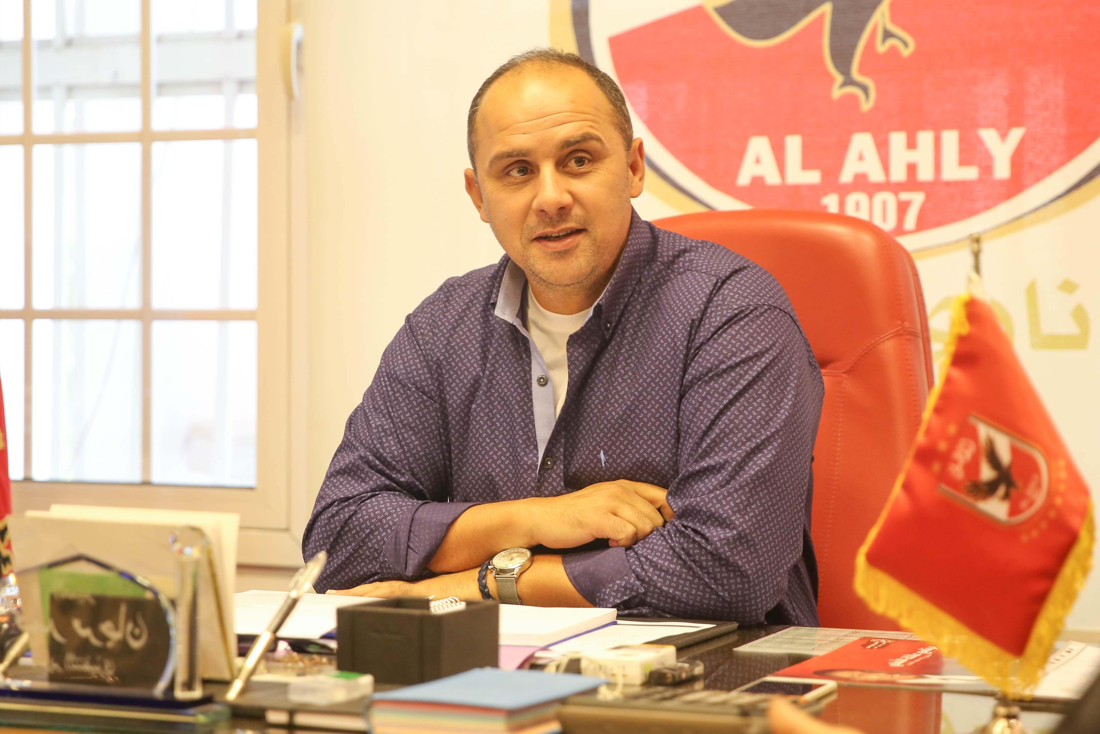 العميد محمد مرجان - المدير التنفيذي للنادي