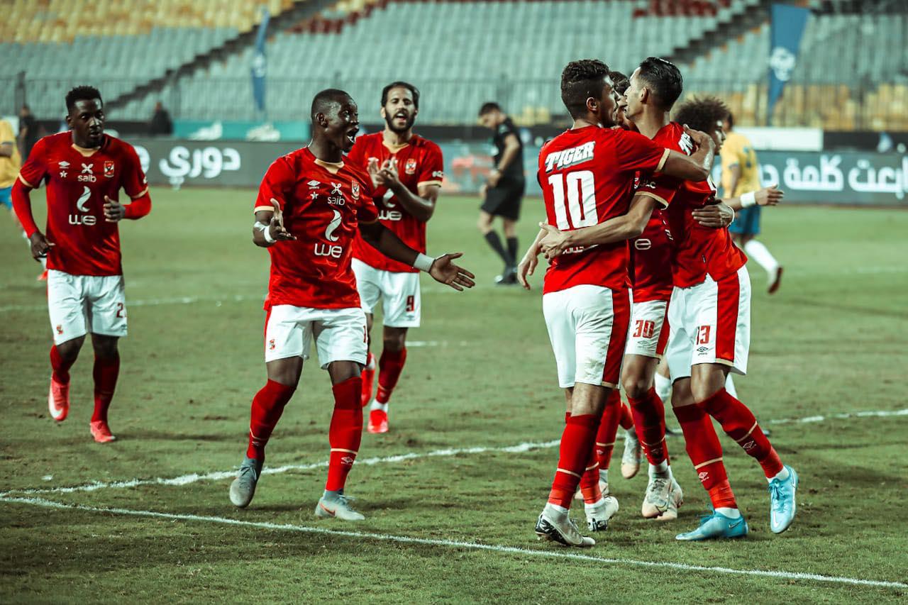 الدوري الممتاز| الأهلي يفوز على الإسماعيلي بهدفي «بانون» و«صلاح محسن»