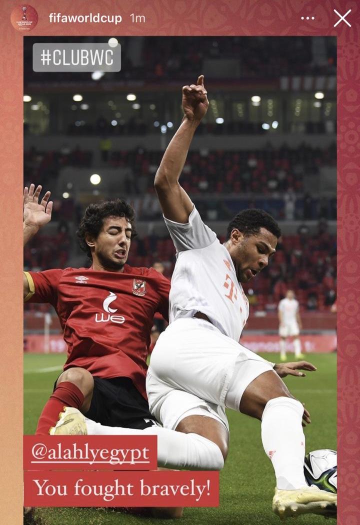 «فيفا»: الأهلي قدم أداءً رائعًا ضد فريق استثنائي
