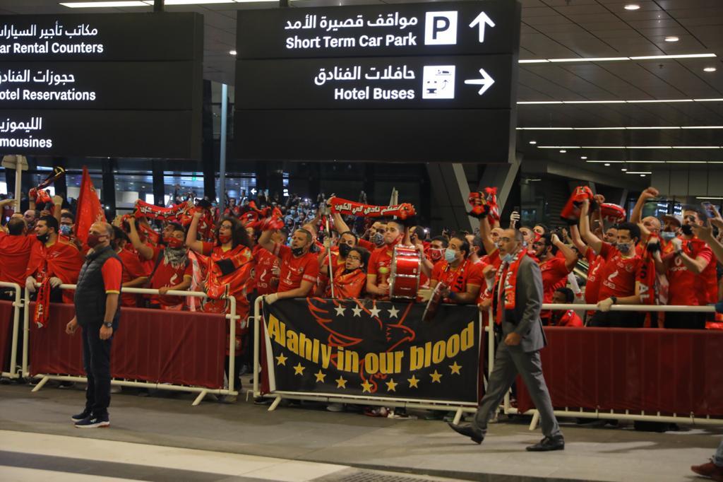 جماهير الأهلي في قطر
