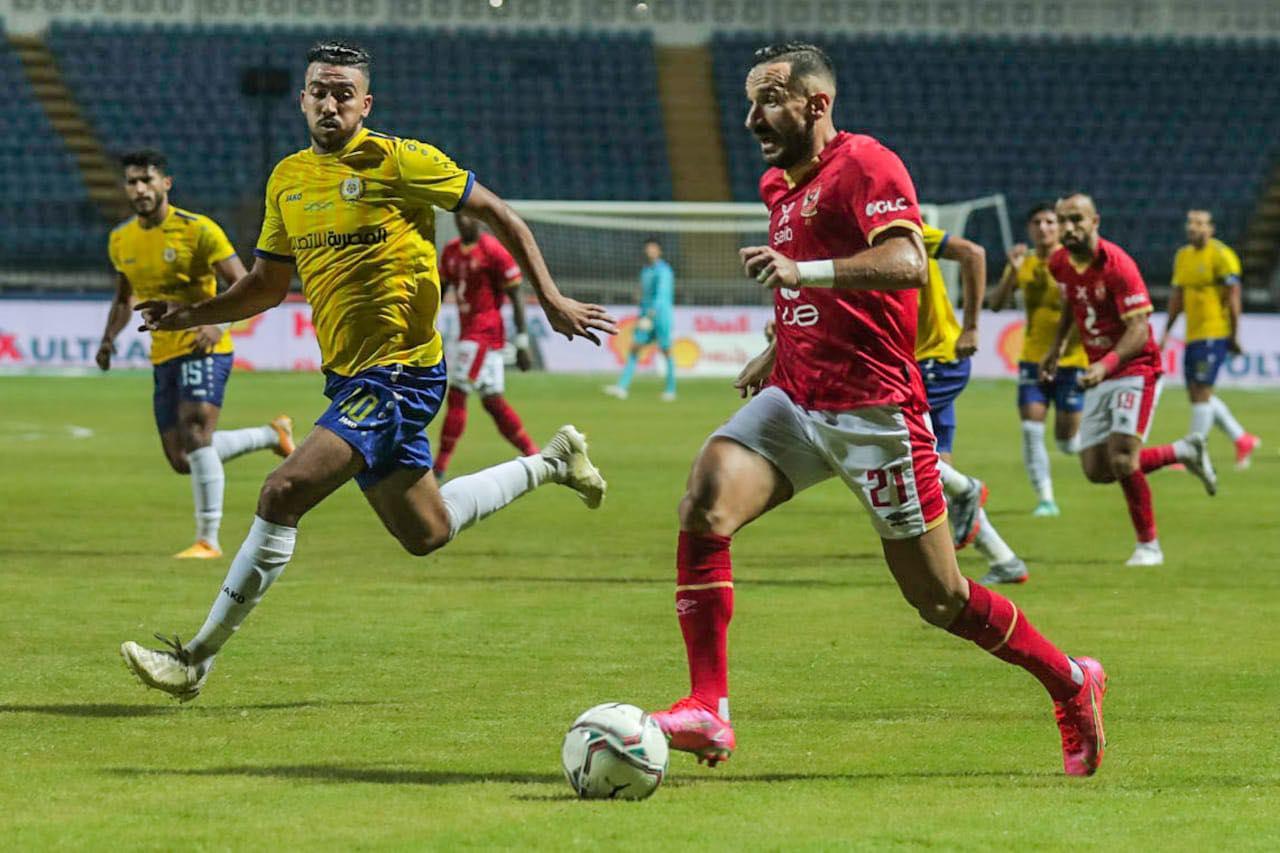 الدوري الممتاز| الأهلي يتعادل مع الإسماعيلي 1-1