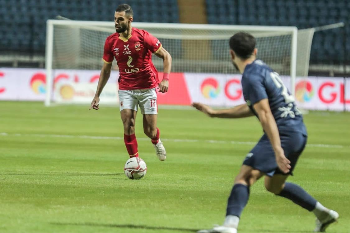 كأس مصر  الأهلي يتعادل سلبًا مع إنبي في الشوط الأول