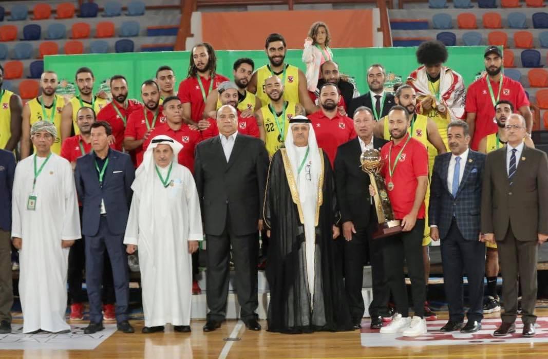 الخطيب يهنئ «رجال سلة الأهلي» بالبطولة العربية