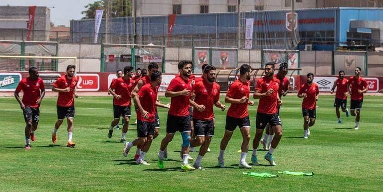 مران الأهلي| تدريبات استشفائية للمشاركين في مباراة بيراميدز