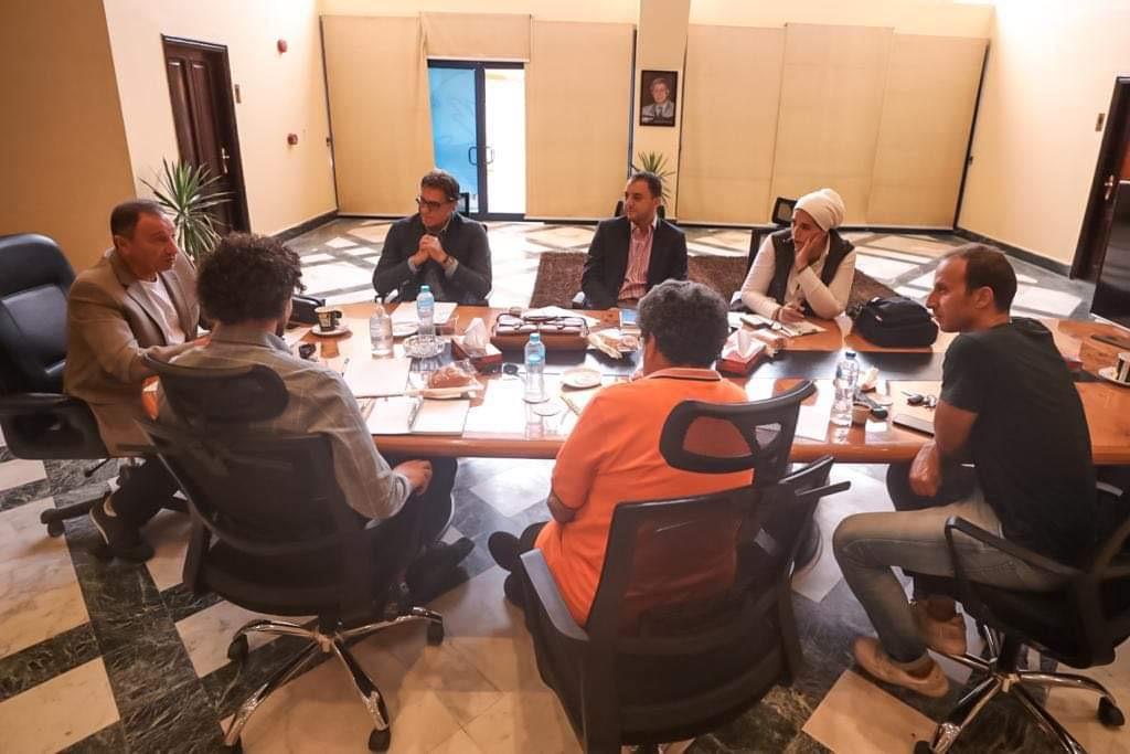 الخطيب يعقد اجتماعًا لشركة الأهلي لكرة القدم مع الجهاز الفني للفريق الأول.. وآخر مع لجنة المواهب
