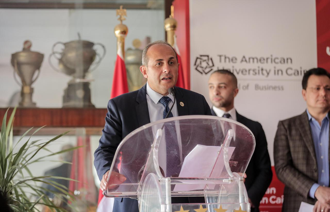 «عبدالسلام» يتحدث عن شروط وموعد انطلاق المشروع التعليمي المشترك بين النادي الأهلي والجامعة الأمريكية