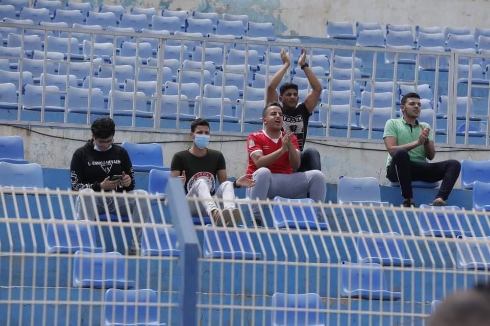 دوري أبطال إفريقيا| جماهير الأهلي تؤازر اللاعبين في ملعب الجوهرة الزرقاء