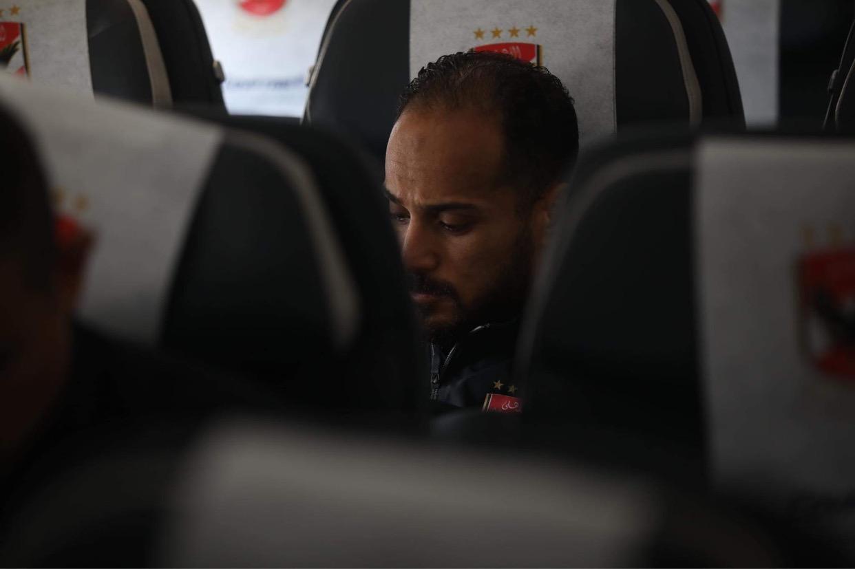 السوبر الإفريقي  بعثة الأهلي تغادر مطار جوهانسبرج في طريقها إلى قطر