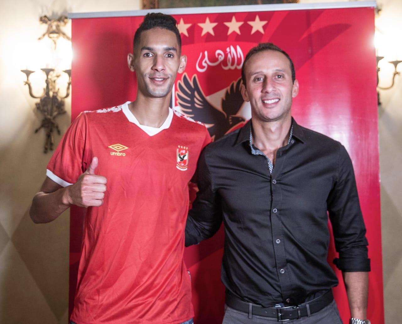 Al Ahly Announce the Signing of Moroccan Player Badr Benoun for Four Years