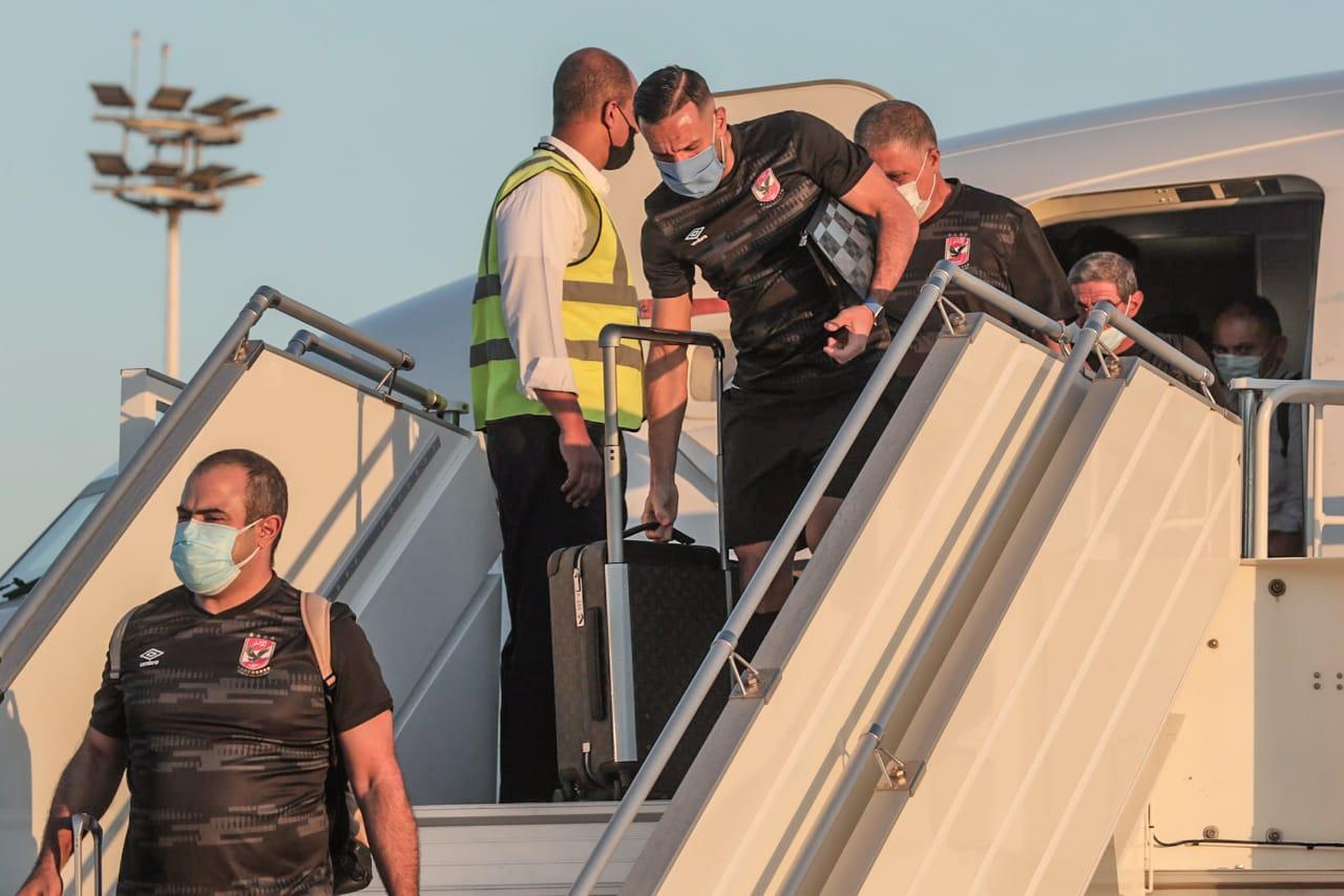 دوري أبطال إفريقيا| الأهلي يغادر المغرب عقب مباراة كايزر تشيفز