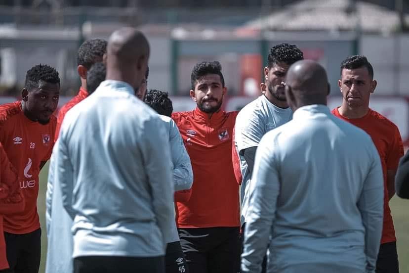 دوري أبطال إفريقيا| أيمن أشرف ينتظم في مران الأهلي استعدادًا للمريخ