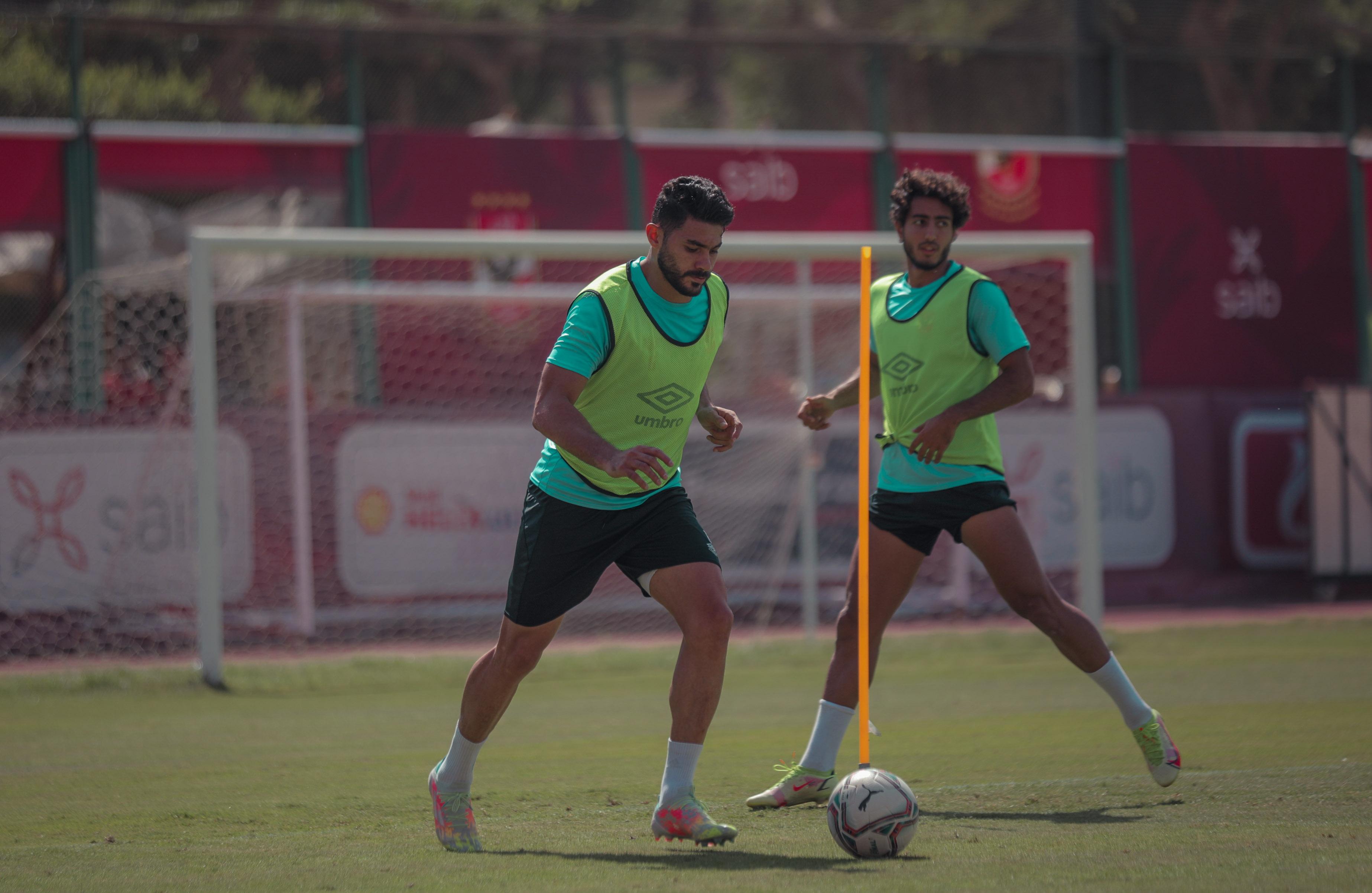 مران الأهلي| تدريبات في «الجيم» للاعبي الفريق