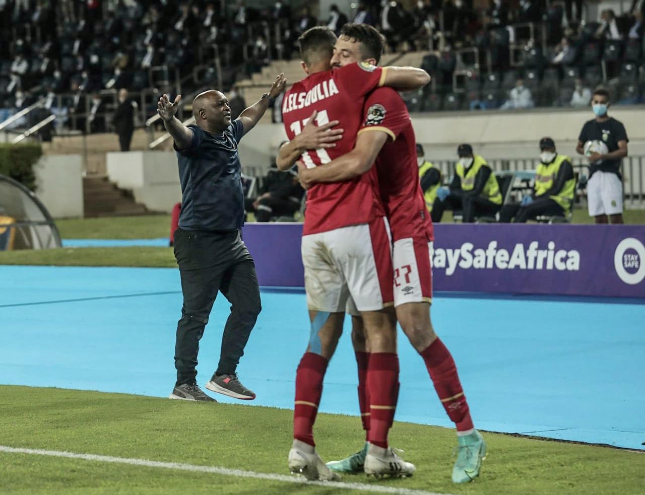 دوري أبطال إفريقيا| السولية يسجل الهدف الثالث للأهلي في مرمى كايزر تشيفز