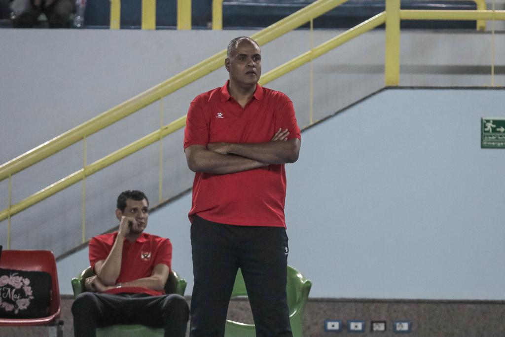سيدات طائرة الأهلي  حمدي الصافي: ثقتي كانت كبيرة في حصد لقب كأس مصر
