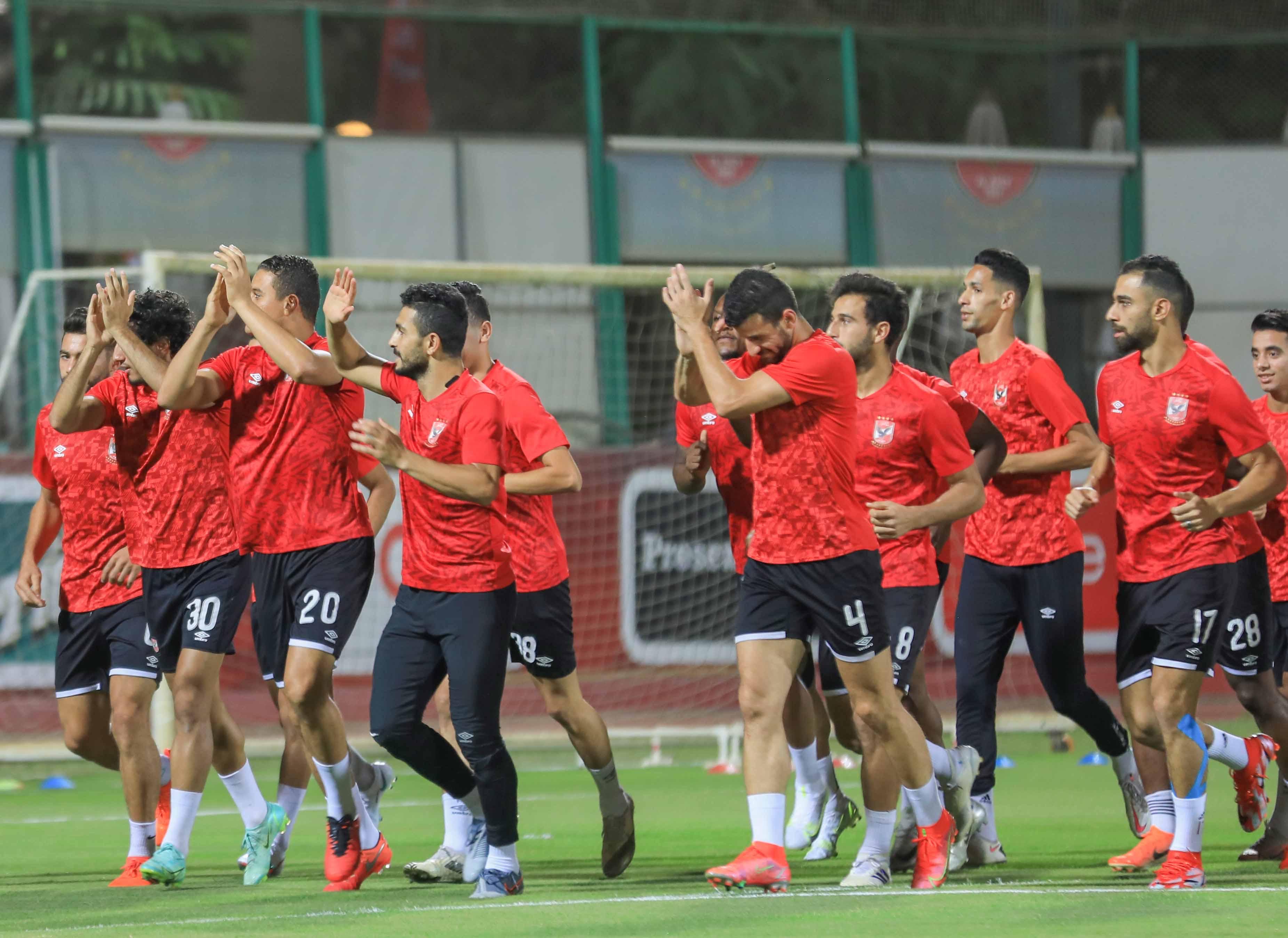 الدوري الممتاز| الفريق يستأنف تدريباته استعدادًا لمباراة «البنك الأهلي»