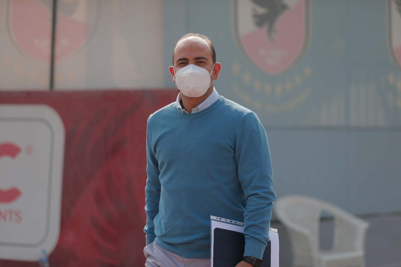 أحمد أبوعبلة يعلن سلبية مسحة لاعبي الأهلي