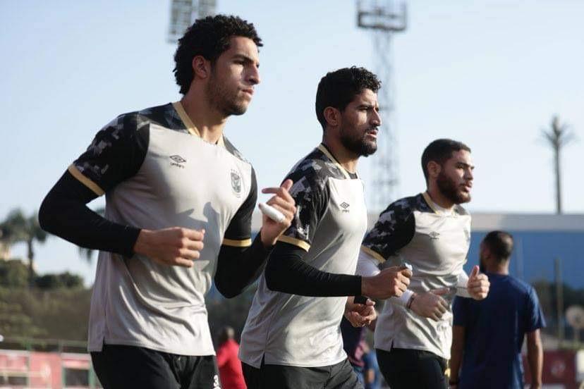 مران الأهلي| مصطفى شوبير ينتظم في تدريبات حراس المرمى