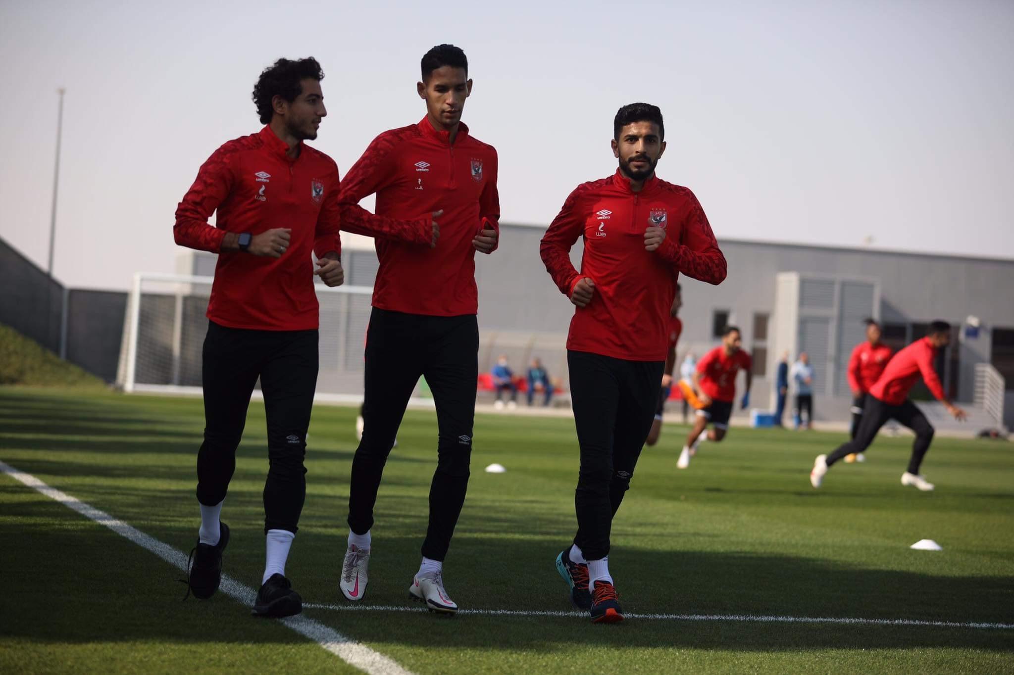 الأهلي في المونديال| مران بدني لـ«ثلاثي الفريق»