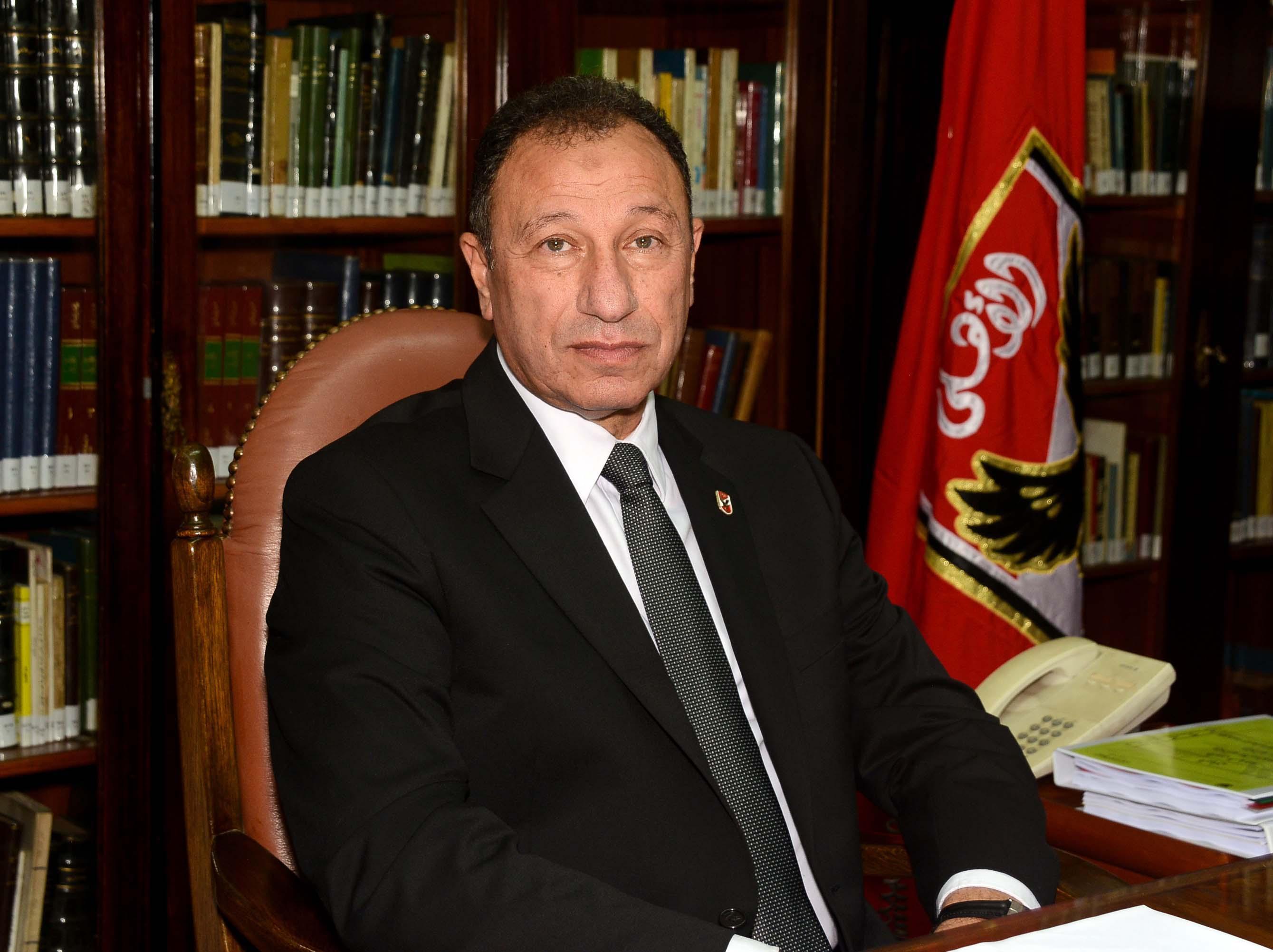 الكابتن محمود الخطيب - رئيس النادي