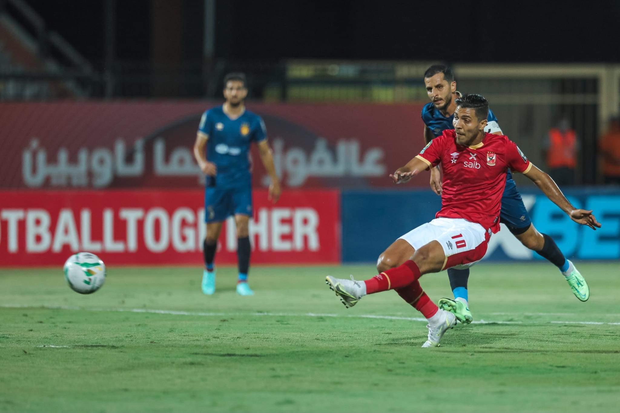 دوري أبطال إفريقيا  محمد شريف يسجل الهدف الثاني للأهلي في مرمى الترجي