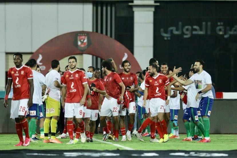 مصر المقاصة يجهز ممرًّا شرفيًّا لأبطال الدوري 