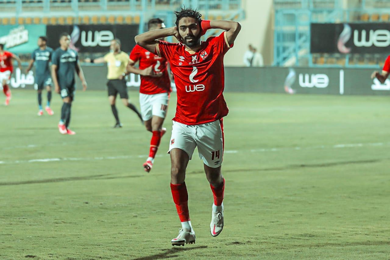 حسين الشحات - الأهلي وإنبي