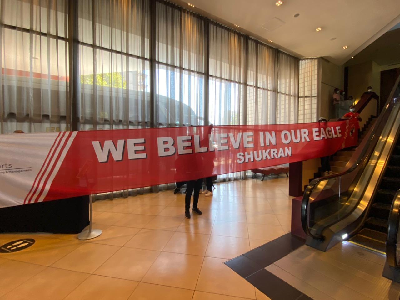 لافتة في جنوب إفريقيا