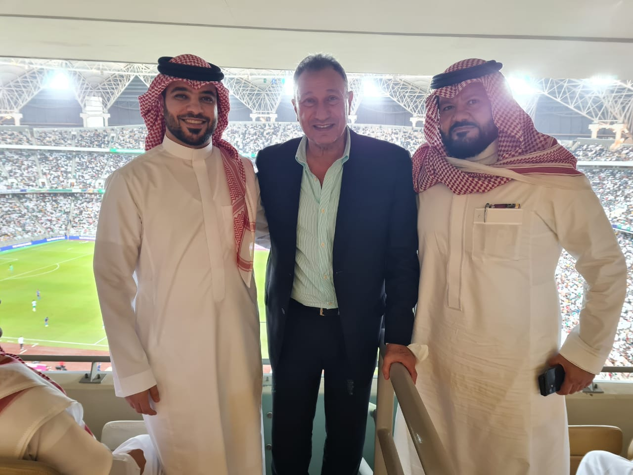 محمود الخطيب - رئيس الاتحاد السعودي