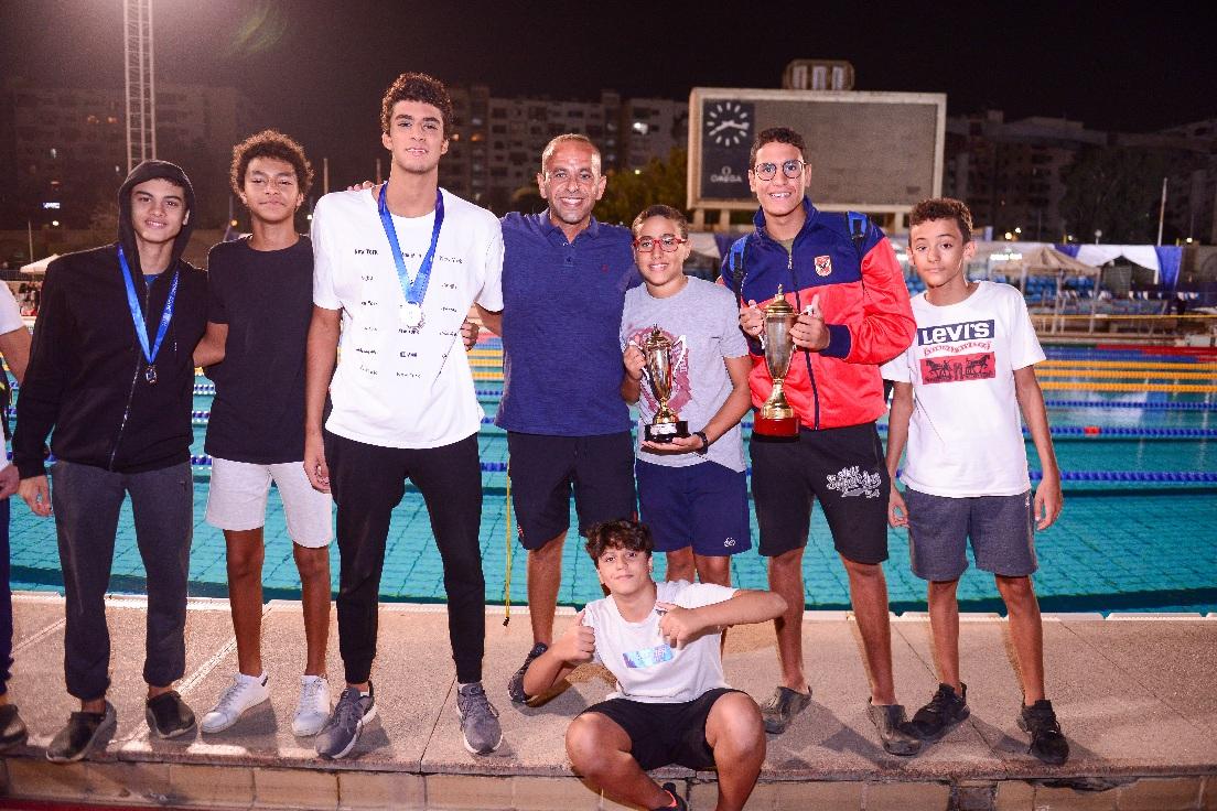 ناشئين سباحة الأهلي تحت 14 سنة