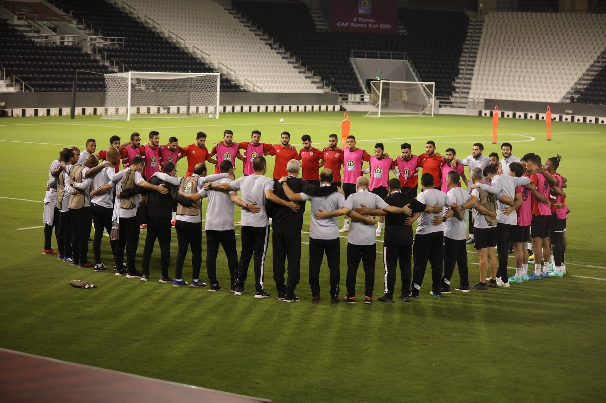 مران الفريق في قطر