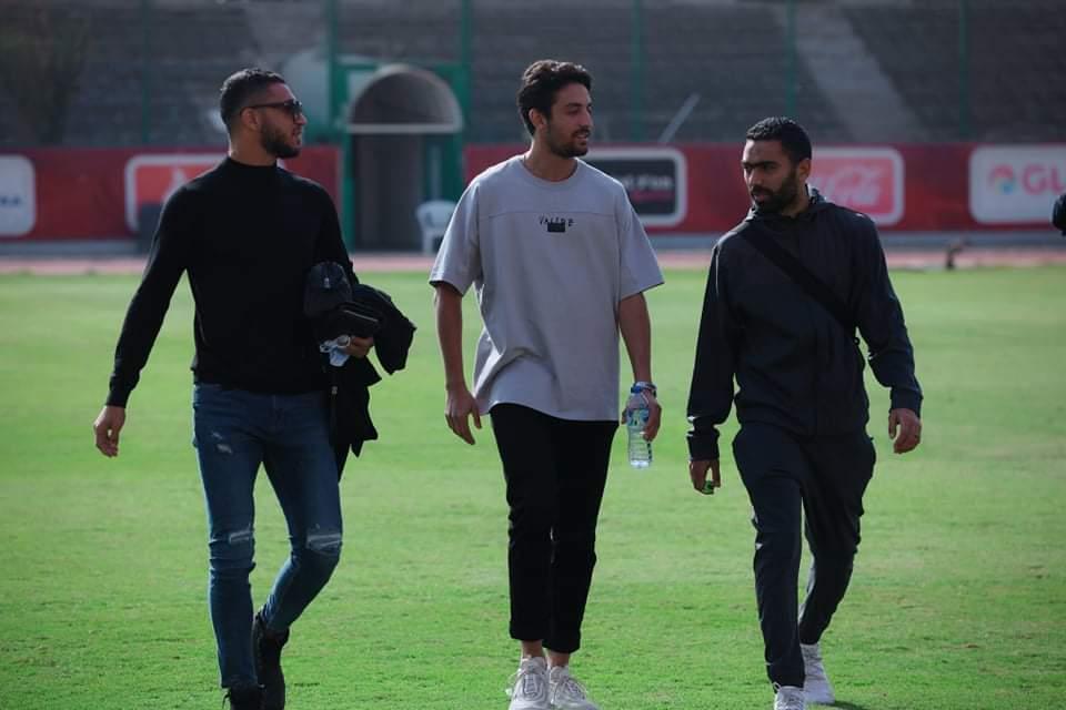 طاهر محمد - حسين الشحات - رامي ربيعة