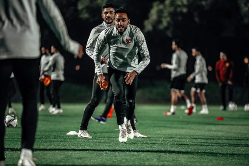 مران الفريق في قطر - كهربا