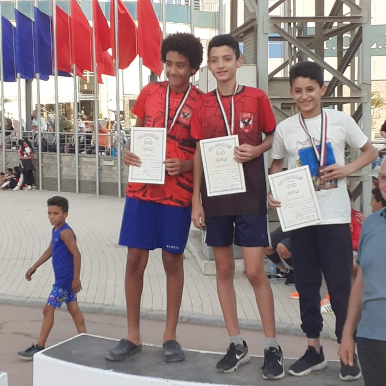 ألعاب القوى تحت 12 و 14 سنة