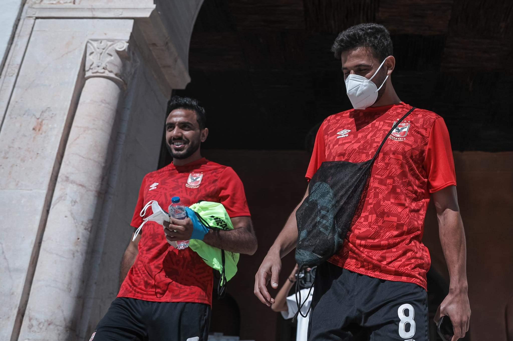 بعثة الفريق في تونس
