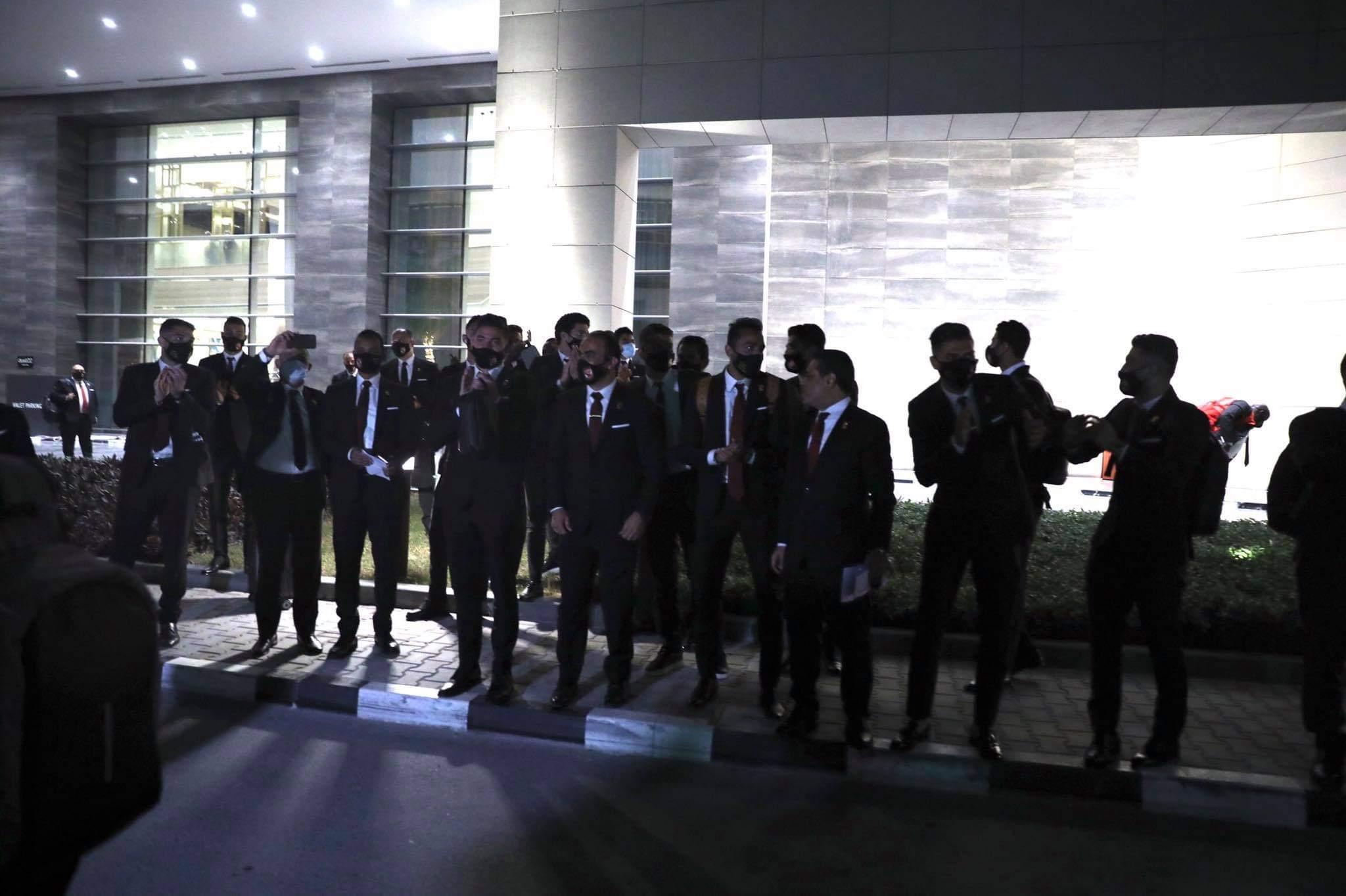 بعثة الفريق فى قطر