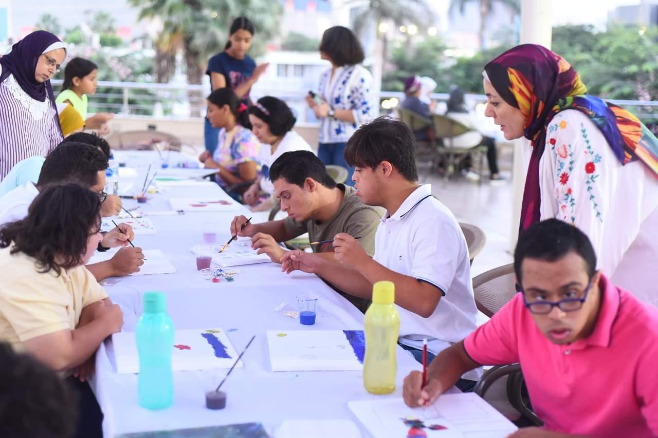 الأهلي يقيم ورشة عمل لتنمية قدرات ذوي الهمم